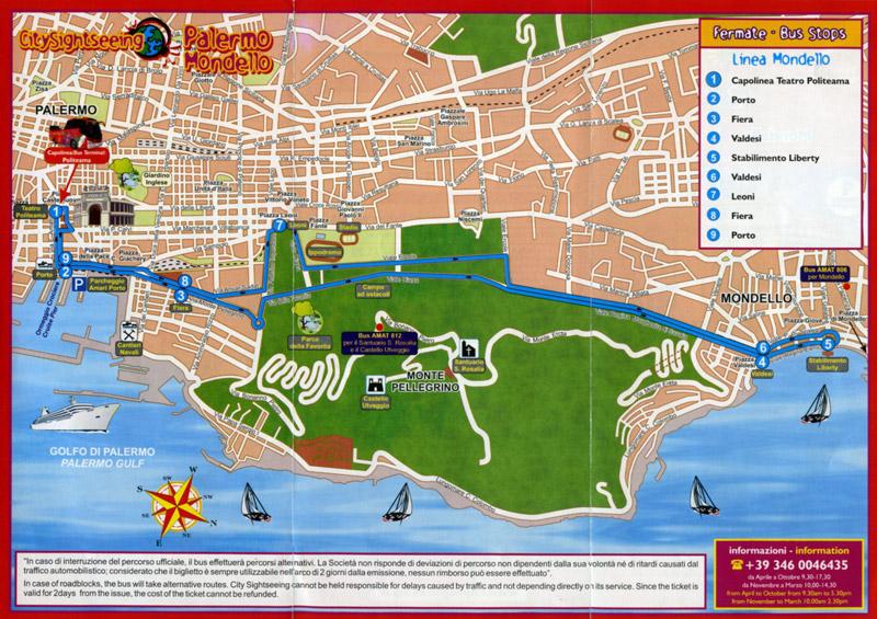 Cartina Sicilia Mondello.Tour Palermo Monreale Mondello Fd By Sanvitotour